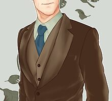 Benedict Cumberbunches of Leaves by azureverie