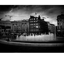 Manchester's Picadilly Gardens Photographic Print