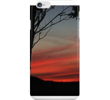 The red sky at night...........! iPhone Case/Skin