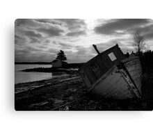 Brooding Wreck Canvas Print
