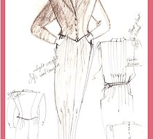 design sketch by Rosa  D'Alessio