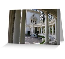 Columns and Curves Greeting Card