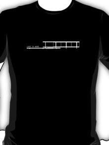 Less Is More Farnsworth House Architecture T-shirt T-Shirt