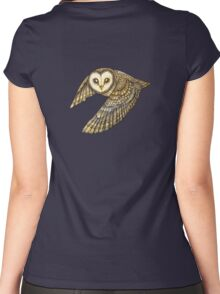 Silent Wings Women's Fitted Scoop T-Shirt