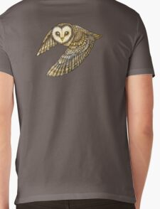 Silent Wings Mens V-Neck T-Shirt