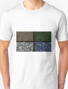 Military camuflage colours-desert,jungle,winter and militia Unisex T-Shirt