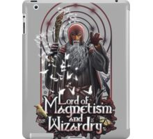 Lord of Magnetism and Wizardry iPad Case/Skin