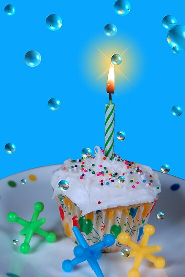 Bubble Birthday  by Maria Dryfhout