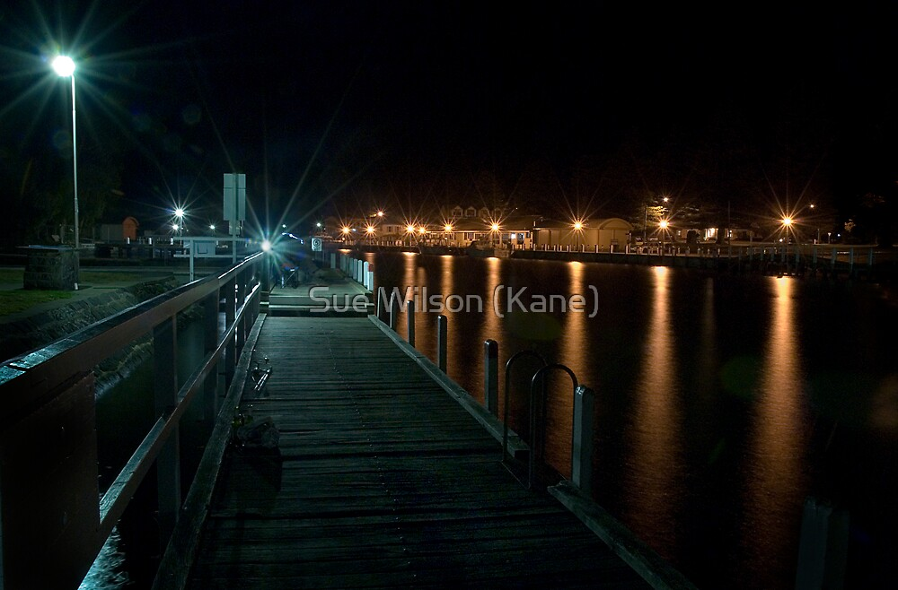The Pier, Port Fairy by Sue Wilson (Kane)