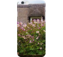 Thatch and Flowers iPhone Case/Skin