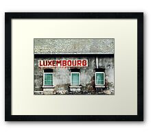 Luxembourg Framed Print