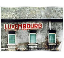 Luxembourg Poster