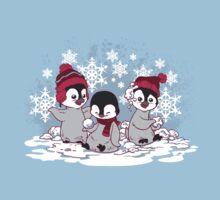 Snow Penguins Kids Clothes