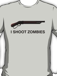 I shoot Zombies T-Shirt