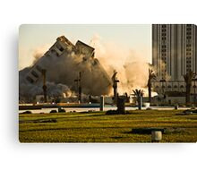 Demolition Canvas Print