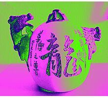 Chinese Teapot Photographic Print