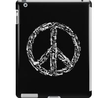 Weapon Peace black iPad Case/Skin