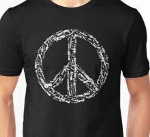 Weapon Peace black Unisex T-Shirt