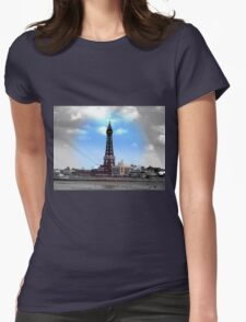 Blackpool Tower Womens Fitted T-Shirt