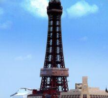 Blackpool Tower Sticker