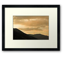 Sierra Sky Framed Print