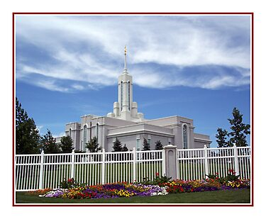Mount Timpanogos Temple - Summer by Ryan Houston