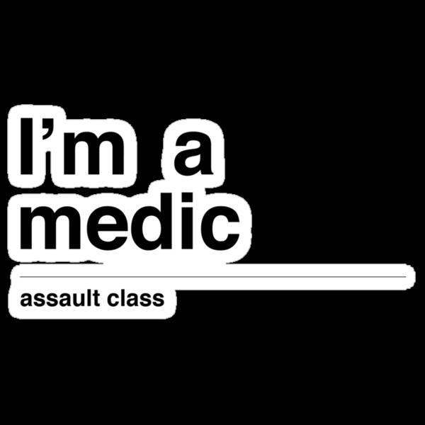 I'm a medic (black) by tombst0ne