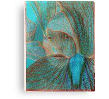 me blue ghost Canvas Print
