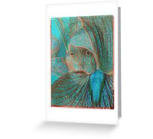 me blue ghost Greeting Card