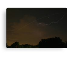 Cloud-To-Air Lightning Canvas Print