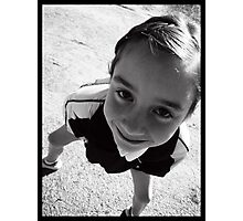 Funny Kiddo Photographic Print