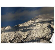 Lone Peak Wilderness - Snow-Capped Ridge Poster
