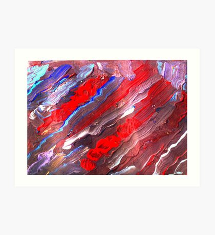 Colors of Freedom Art Print