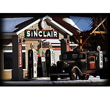 Sinclair Gas - American Fork, UT Photographic Print