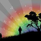 Follow the Music. by Amy Jen