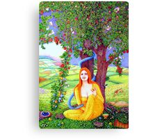 The Apple Lady Welcomes You Canvas Print