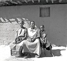 African family by Liv Stockley