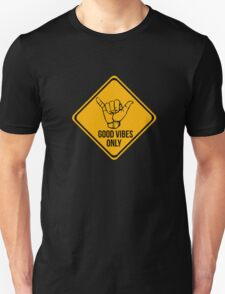 Cool surf - Funny warning sign Unisex T-Shirt