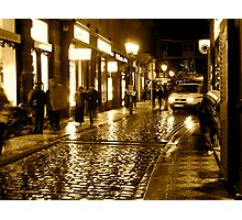 Cobbled Gold Photographic Print