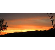 Barden Ridge sunset Photographic Print