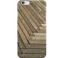 Boardwalk pattern iPhone Case/Skin