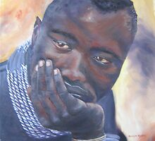 Tribal African Man by amandaadams