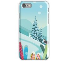 Apres-Ski  iPhone Case/Skin
