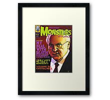 Infamous Monsters Framed Print