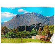Corrugated Iron Mansion,  Wilmot ,Tasmania Australia Poster