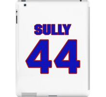 National football player Ivory Sully jersey 44 iPad Case/Skin