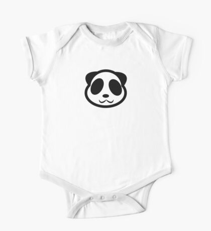 Panda One Piece - Short Sleeve