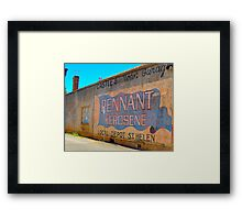 Signs Of Our Times Framed Print