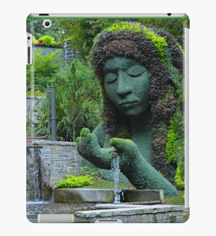 She is the giver of life and water iPad Case/Skin