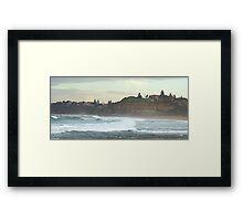 Turmoil - Northern Beaches,Sydney, Australia Framed Print